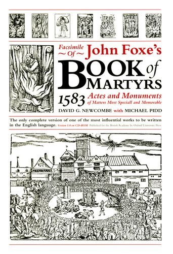 9780197262252: Facsimile of Foxe's Book of Martyrs, 1583: Actes and Monuments of Matters Most Speciall and Memorable: Version 1.0 on CD-ROM Single User Version