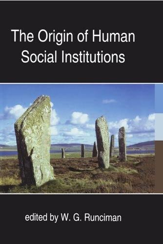 9780197262504: The Origin of Human Social Institutions