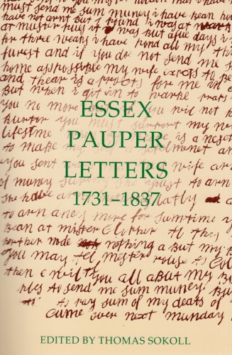 9780197263488: Essex Pauper Letters, 1731-1837 (Records of Social and Economic History (New Series))