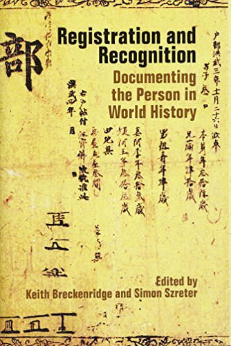 9780197265314: Registration and Recognition: Documenting the Person in World History (Proceedings of the British Academy)