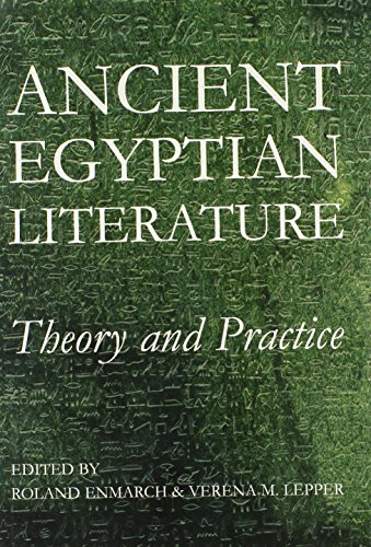 9780197265420: Ancient Egyptian Literature: Theory and Practice (Proceedings of the British Academy)