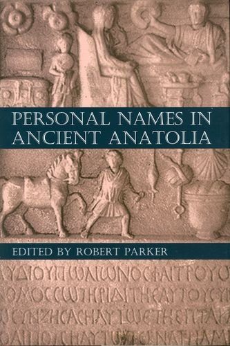9780197265635: Personal Names in Ancient Anatolia (Proceedings of the British Academy)