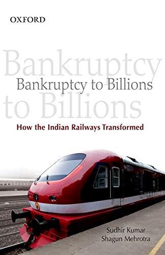 Bankruptcy to Billions: How the Indian Railways: Sudhir Kumar, Shagun