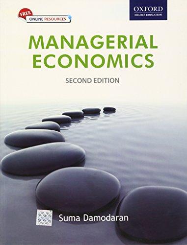Managerial Economics: Suma Damodaran