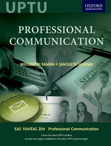 9780198061120: Professional Communication For Uptu