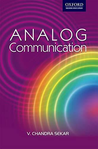 Analog Communication: V. Chandra Sekar