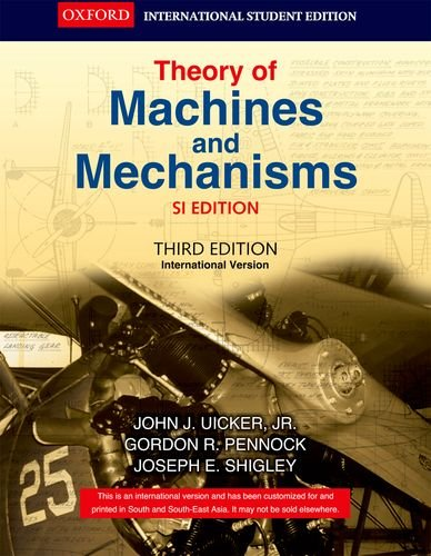 9780198062325: Theory of Machines and Mechanisms