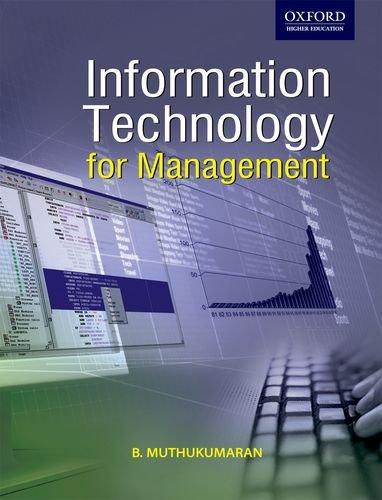 9780198064145: Information Technology for Management