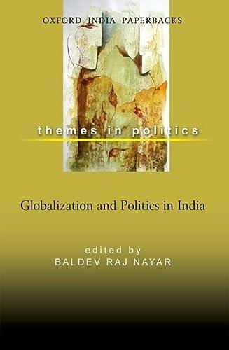 Globalization and Politics in India: Baldev Raj Nayar (ed.)