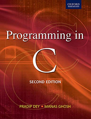 9780198065289: Programming in C 2/e (Oxford Higher Education)