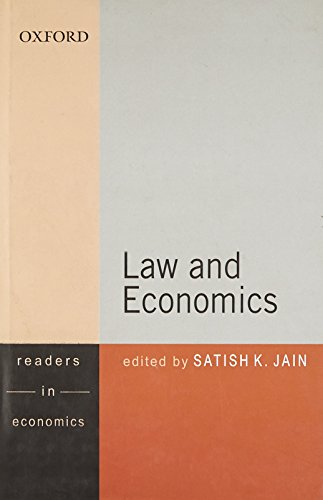 9780198067733: Law and Economics (Themes in Economics) (Oxford in India Readings. Readers in Economics)