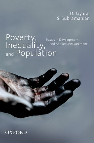 9780198067948: Poverty, Inequality, and Population: Essays in Development and Applied Measurement