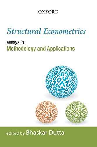 9780198069430: Structural Econometrics: Essays in Methodology and Applications