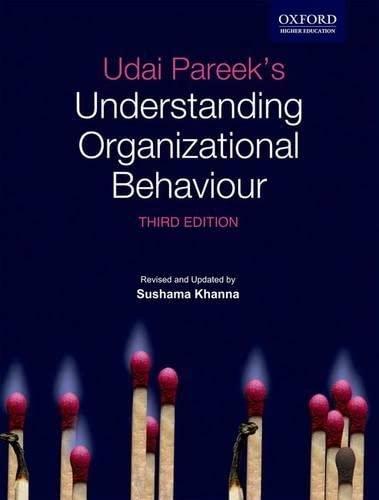 9780198070733: Udai Pareek's Understanding organizational Behaviour, 3e