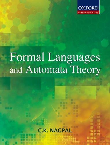 Formal Languages and Automata Theory: Nagpal