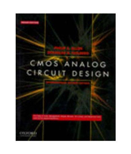 9780198071891: Cmos Analog Circuit Design
