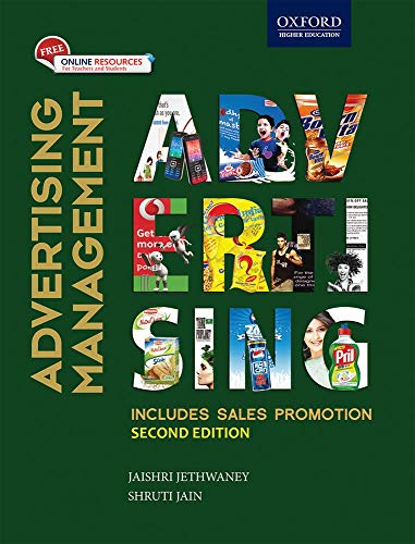 Advertising Management: With Cd: Jethwaney, Jaishri; Jain,