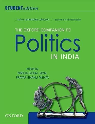 9780198075929: The Oxford Companion to Politics in India: Student Edition
