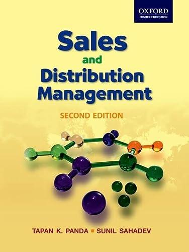 9780198077046: Sales and Distribution Management, 2e