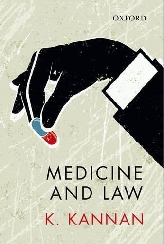 Medicine and Law: Kannan, K.