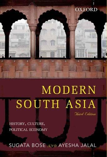 9780198092247: Oxford University Press Modern South Asia: History, Culture, Political Economy