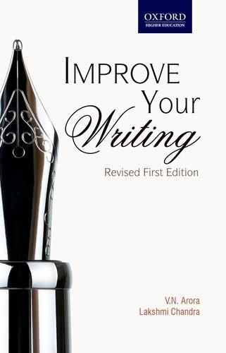 Improve Your Writing: Chandra Lakshmi Arora