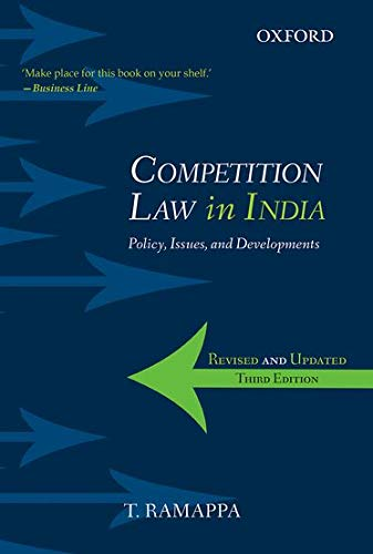 9780198097273: Competition Law in India: Policy, Issues, and Developments
