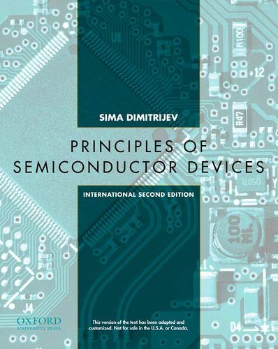 9780198097365: Semiconductor Devices