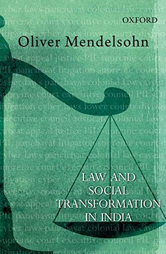 9780198098478: Law and Social Transformation in India (Law in India)