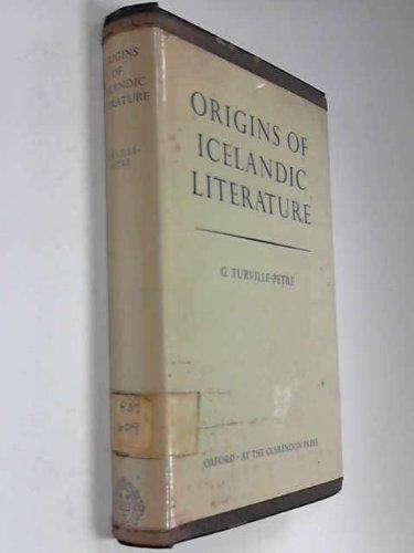 9780198111146: Origins of Icelandic Literature