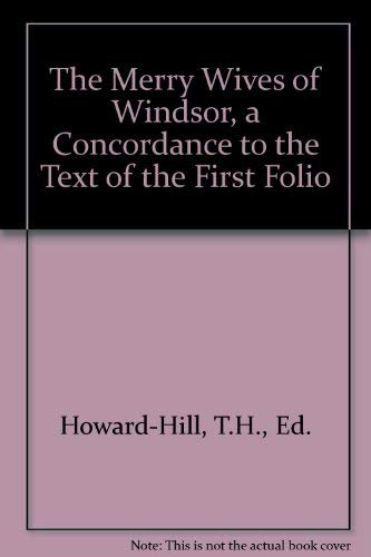 """Shakespeare's """"Merry Wives of Windsor"""" (Oxford Shakespeare: n/a"""