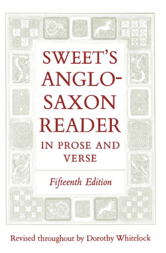 9780198111696: Sweet's Anglo-Saxon Reader in Prose and Verse