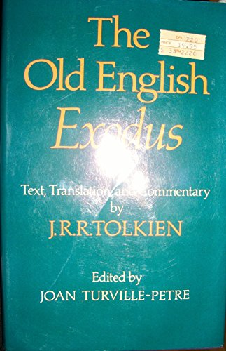 9780198111771: The Old English Exodus