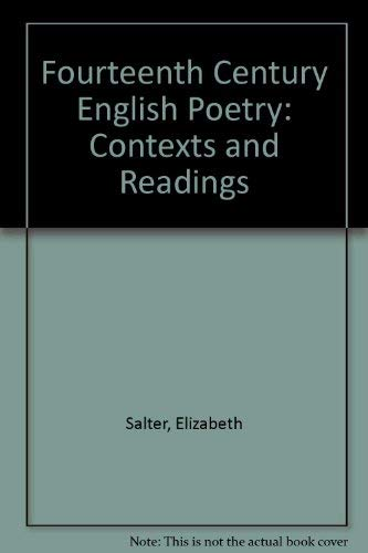 9780198111863: Fourteenth Century English Poetry: Contexts and Readings