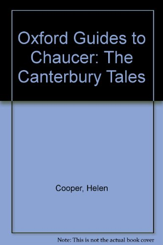 9780198111900: Oxford Guides to Chaucer: The Canterbury Tales [Taschenbuch] by