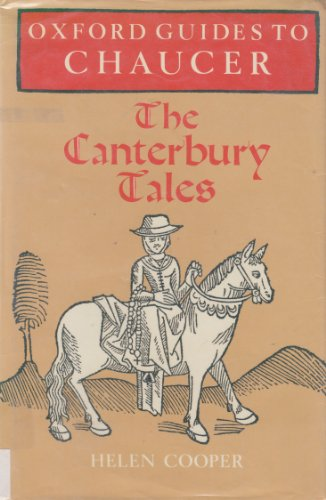 9780198111917: Oxford Guides to Chaucer: The Canterbury Tales
