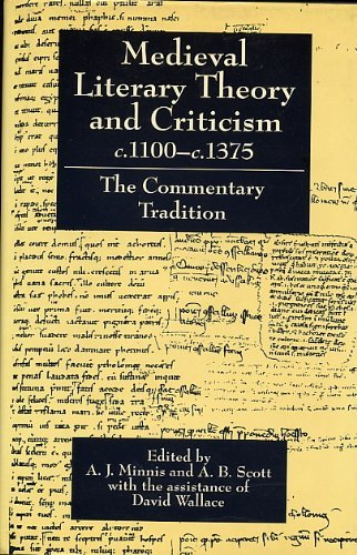 9780198111986: Medieval Literary Theory and Criticism c.1100-c.1375: The Commentary-Tradition