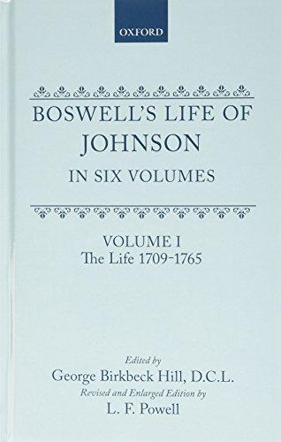 9780198113041: Boswell's Life of Johnson: Volumes 1-4 (v. 1-4)