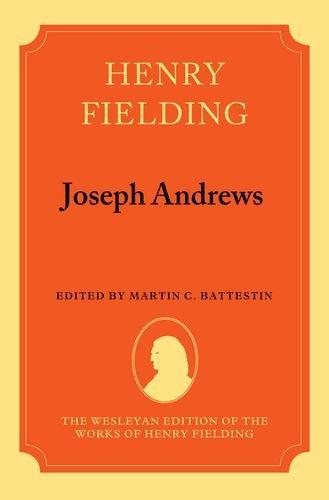 9780198114512: Henry Fielding: Joseph Andrews