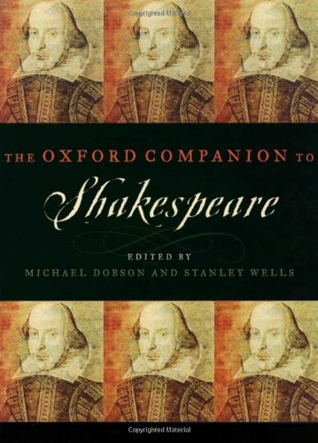 9780198117353: The Oxford Companion to Shakespeare