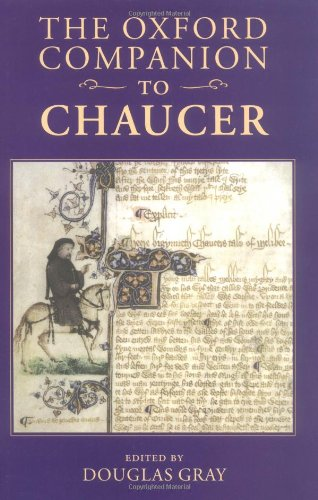 9780198117650: The Oxford Companion to Chaucer (Oxford Companions)