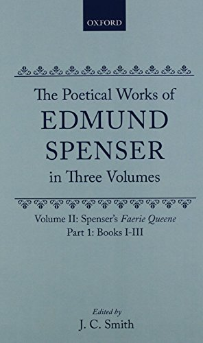 9780198118244: Spencer's Faerie Queene: Volume I: Books I-III (Oxford English Texts)