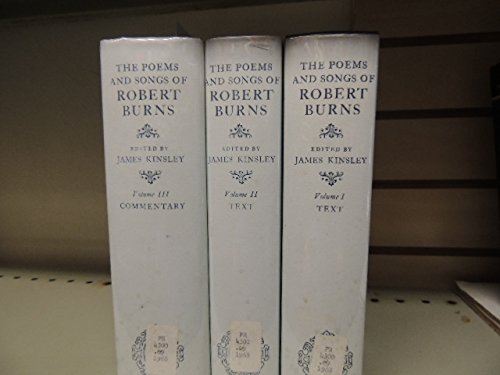 9780198118435: The Poems and Songs of Robert Burns (Oxford English Texts)