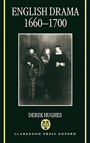 9780198119746: English Drama, 1660-1700