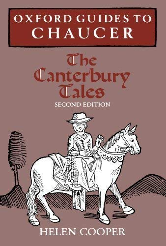 9780198119784: Oxford Guides to Chaucer: The Canterbury Tales
