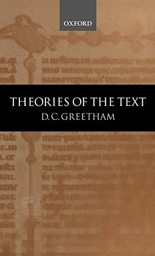 9780198119937: Theories of the Text