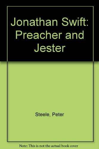 9780198120889: Jonathan Swift: Preacher and Jester