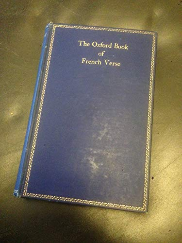Oxford Book of French Verse: Lucas, St. John