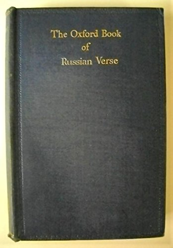 9780198121244: Oxford Book of Russian Verse