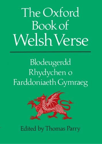 OXFORD BOOK OF WELSH VERSE (Welsh Language Test )